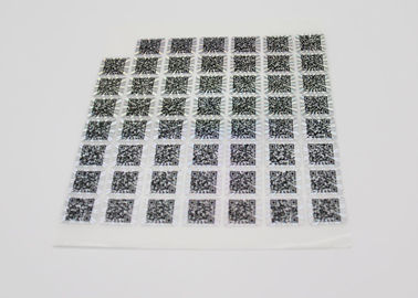 Anti - Counterfeiting Laser Sticker Paper Heat Sensitive With Gradient Effect